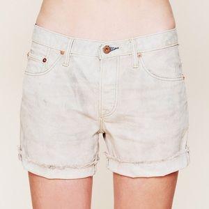 NWOT Free People NSF Chelle Cut Off Denim Shorts